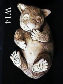 Large Lying Wombat
