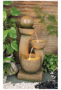 Fibreglass Modern Pots Fountain