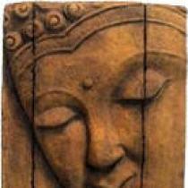 Abstract Buddha Plaque