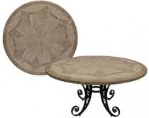 Code CE - Triton Travertine Mosaic Table