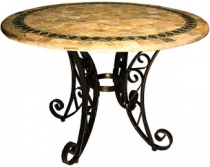 Code CE - Honeycomb Slate Mosaic Table