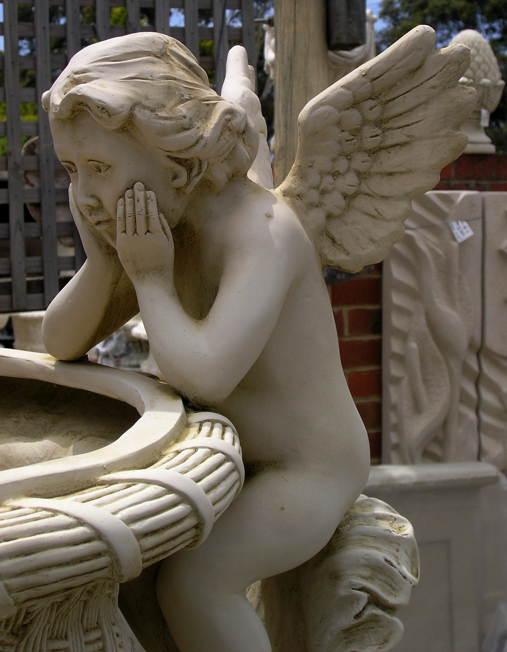 Angels Urn Fibreglass only