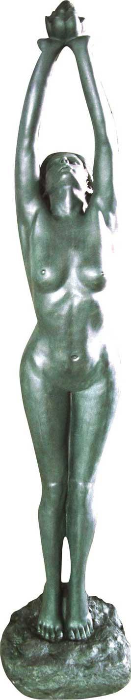 Adriana Statue / Pond Feature