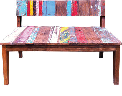 Magnificent Boatwood Plain Bench Seat Whitehouse Gardens Water Pabps2019 Chair Design Images Pabps2019Com