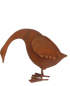 Rusted Metal Duck - Medium