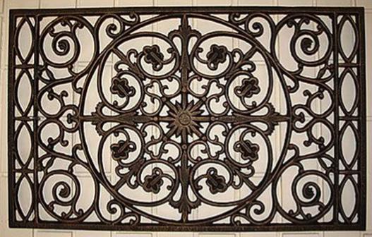 Cast Iron Door Mat CR 015 Whitehouse Gardens Water Feature