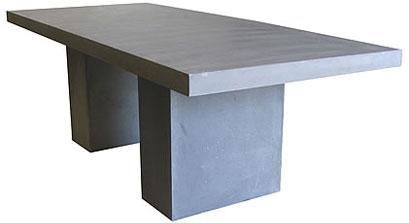 Code CE - Moderno Rectangle GRC Table