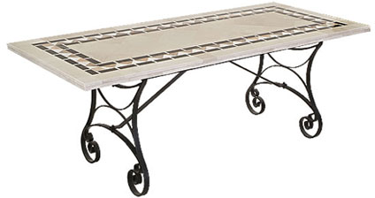 Code CE - MARBLE Valencia Table with Cavelier Base